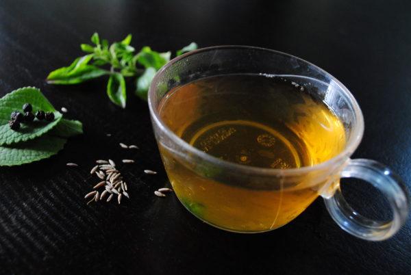 Home made Kashayam Recipe (Home remedy for cold and sore throat) #homemade #tulsi #cloves #ajwain #jeera #blackpepper #newat200deg